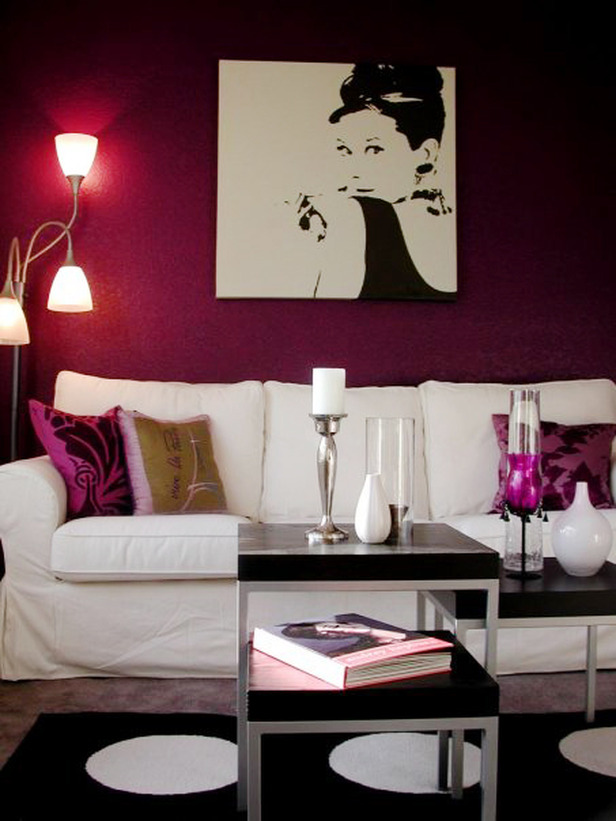 Color connection mulberry hues design indulgences for Room design colour schemes
