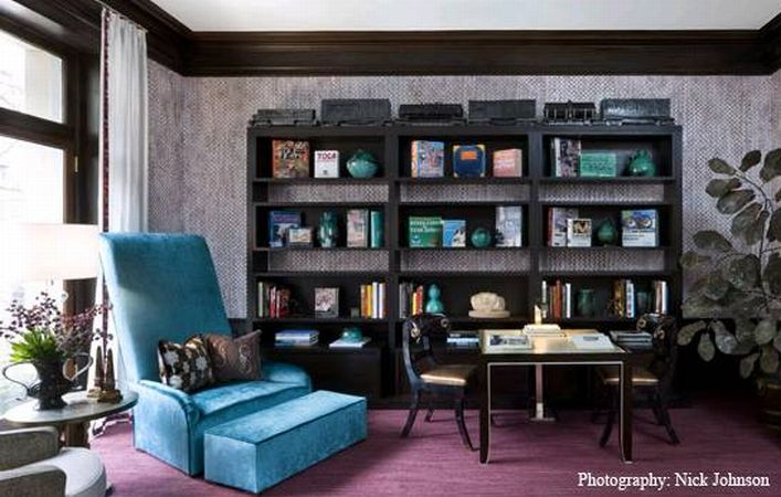 Decorating & Making Bookshelves Visually Interesting… | Design