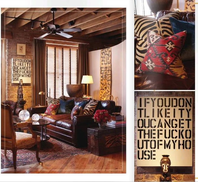 African Inspired Interior Design Ideas: African, Tribal, Safari Inspirations…