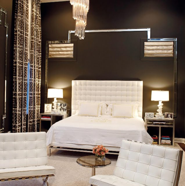 Fresh modern living bedroom for Bed styles images