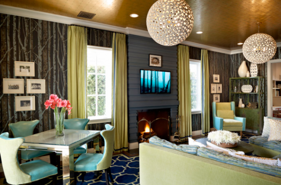 Old hollywood glam design indulgences for Glam interior design
