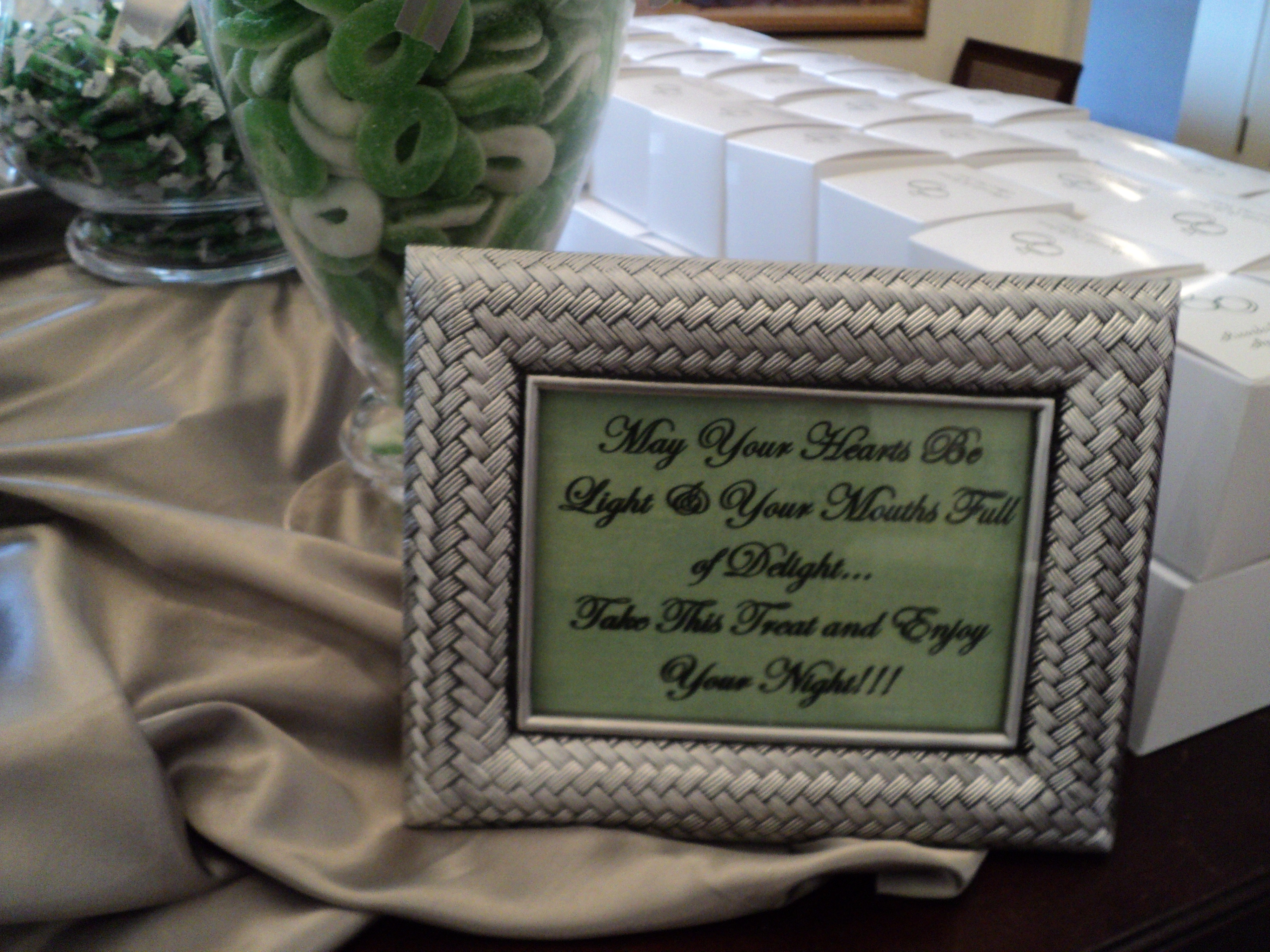 Candy Bar Wedding Quotes – Buffet Design