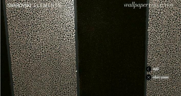 Glitzy Glam Wallpaper By Swarovski Elements Design