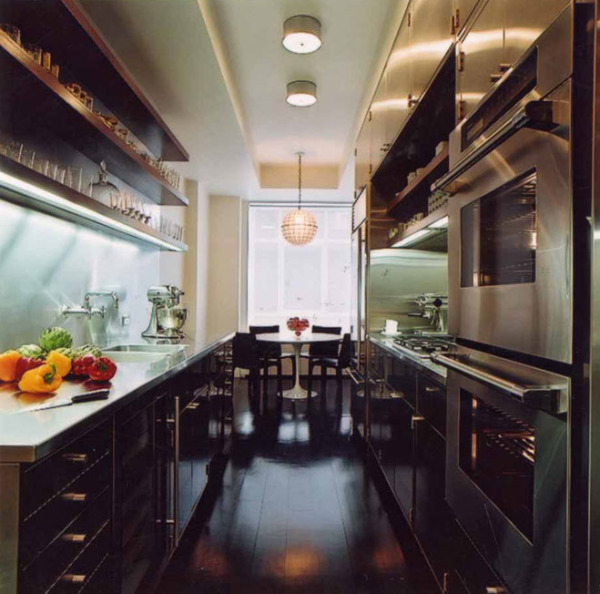 High End Kitchen Design Ideas: All Galley Kitchens Aren't Created Equal…