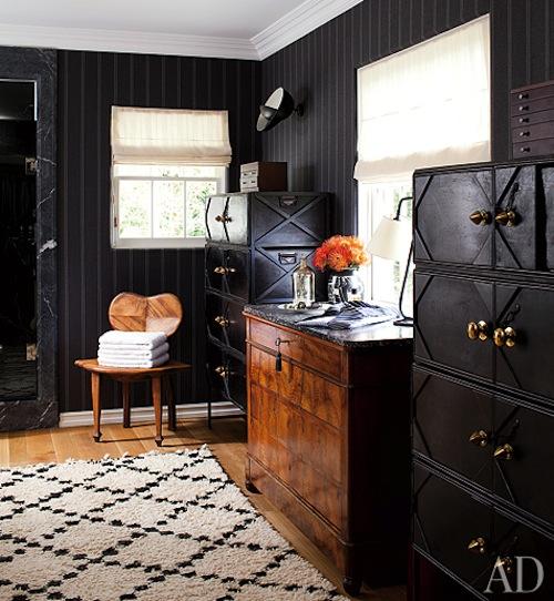 Masculine Vintage Bedroom: Masculine Interior Delights Pt 1