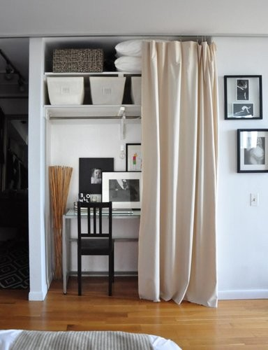 closet into office. Turn A Closet Into Home Office C
