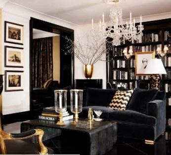 . Color Schemes  Black  White   Gold   Design Indulgences