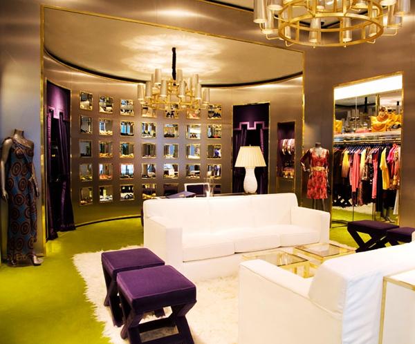 Glam design indulgences page 7 for Interior designs for boutique shops