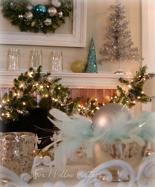 Color Schemes Xmas Edition: Aqua and Silver Winter Wonderland