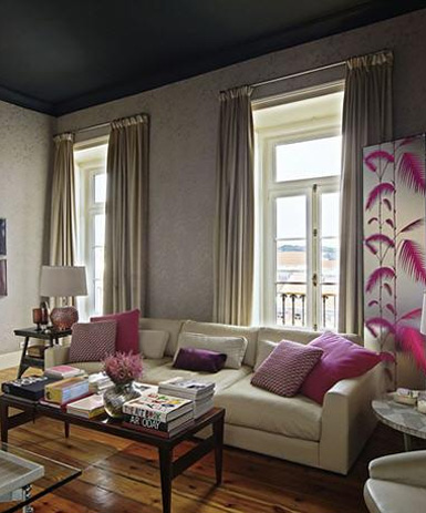 Don t forget the 5th wall painting the ceiling design - Belle maison interieur design ...