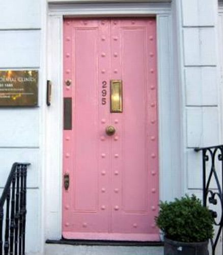 door3 pink gold door interior design exterior design indulgences