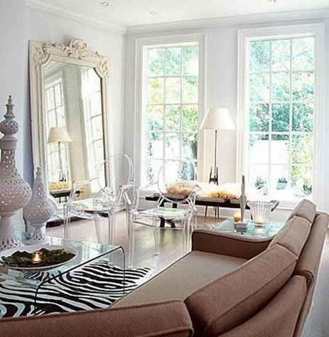 Mirror mirror on the wall leaning large floor mirrors for Standing mirror in living room