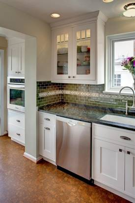 how to make white appliances look like stainless steel