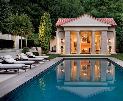 Poolhouse Exteriors Interiors Design Indulgences