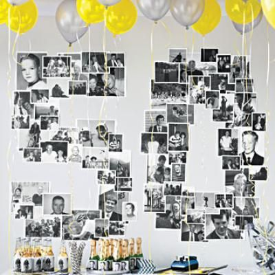Graduation party ideas design indulgences for Room decoration ideas for 50th birthday