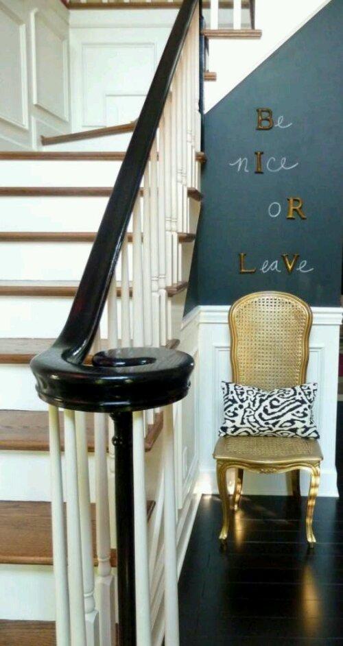 A couple cute diy chalkboard paint ideas design indulgences for Chalkboard paint decorating ideas