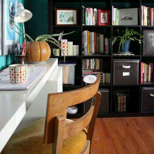 Tuesday S Tips Use Floating Shelves Amp Cabinets To Create