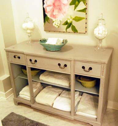Contemporary Bathroom Cabinets Open Shelving T On Inspiration