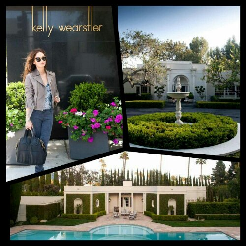Celeb Homes: Kelly Wearstler's House & Closet