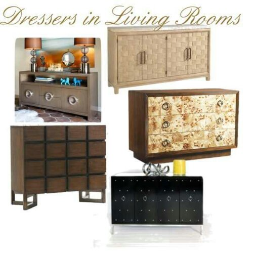 The new tv stand Dressers in living rooms Pt 1 chic alternatives to  entertainment systems. Dresser Alternatives