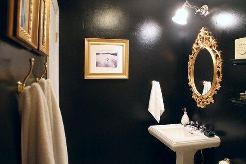 Before after a dramatic bathroom transformation for Dramatic bathroom designs