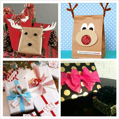 Gift wrapping ideas unique ways to wrap for men design for Creative christmas ideas