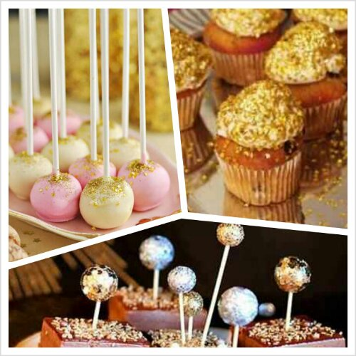 Edible glitter is great for cupcakes, chocolate covered strawberries ...