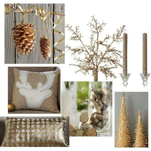 Rustic woodsy christmas decor design indulgences Rustic home decor target