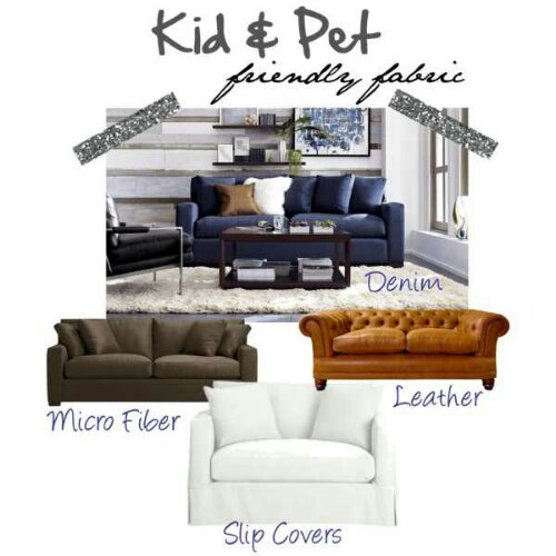 Tuesday\'s Tips: The Best Fabric for Kids and Pets – Design ...