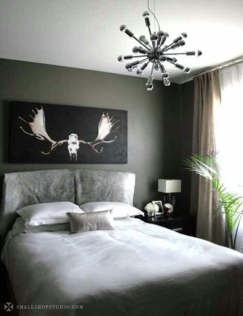 I think I will paint my bedroom charcoal gray in my new