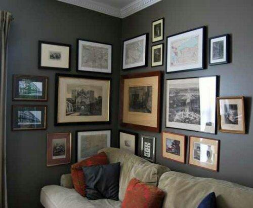 Corner Gallery Walls Design Indulgences