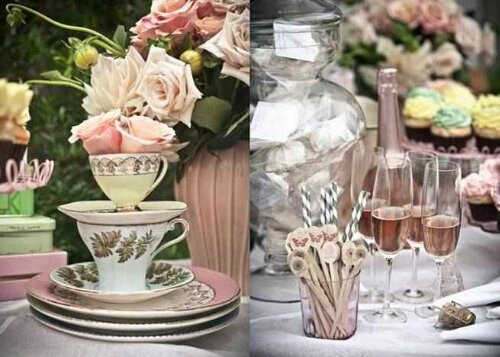Pastel Floral Tea Party Decor Perfect For A Shower Brunch