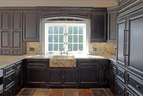 Gray Distressed Kitchen Cabinets kitchen cabinets ideas » gray distressed kitchen cabinets