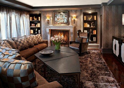 Kris jenner design indulgences Kourtney kardashian living room curtains