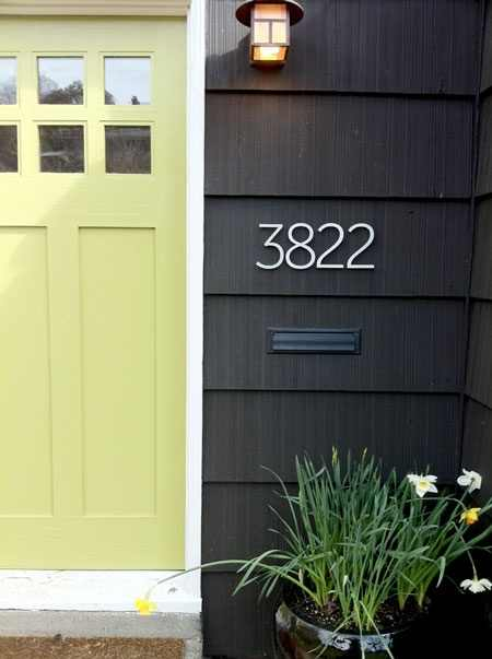 Curb appeal design indulgences for Modern front door colors