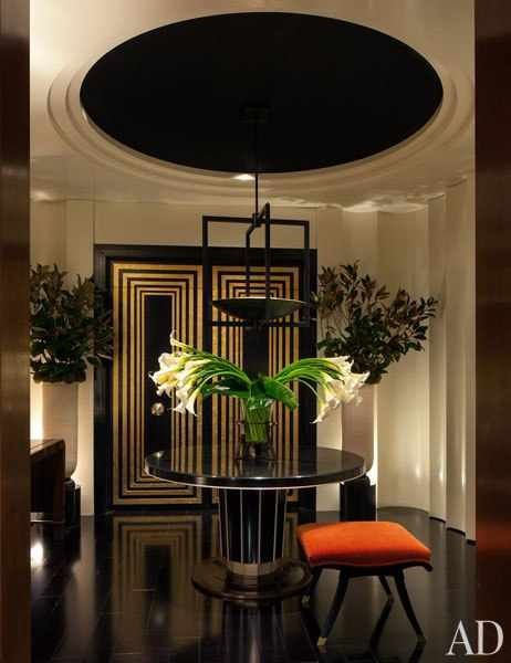 Art deco design indulgences Art deco penthouse