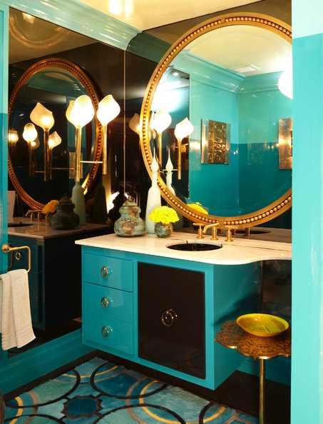 Indulge Daily 6 3 13 High Gloss Jewel Toned Powder Room