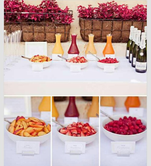 Wedding Brunch Ideas…perfect For A Sunday Morning Ceremony
