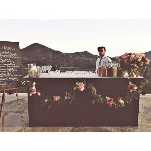 Wedding Drinks Ideas: Outdoor Wedding Bars….
