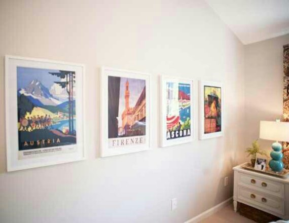 Creating A Travel Themed Bedroom