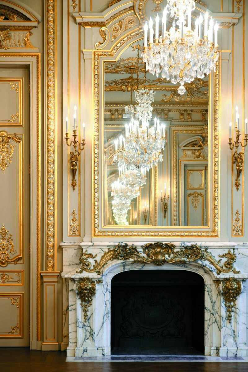 Illuminating with gold candle wall sconces design for Art decoration france
