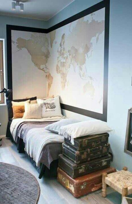 travel themed bedroom creating a travel themed bedroom design indulgences 13588