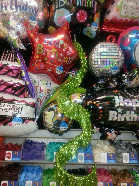 Party City Fill Helium Balloons