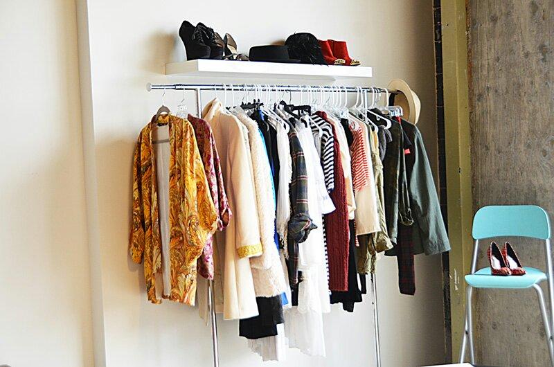 clothes rack design indulgences. Black Bedroom Furniture Sets. Home Design Ideas
