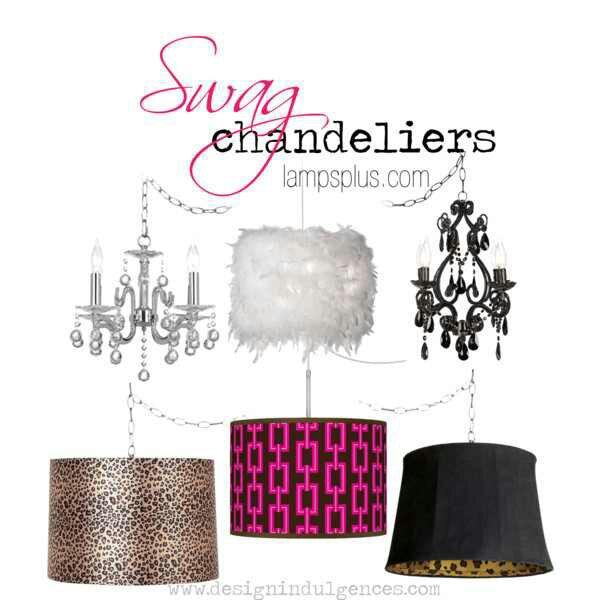 Buy a plug-in swag chandelieru2026