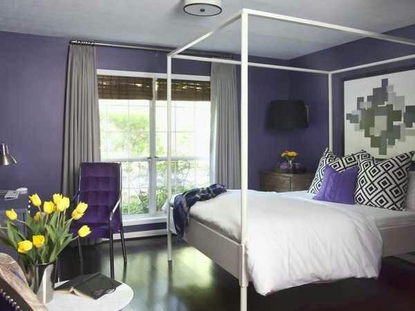 Design inquiries winning the purple bedroom battle with for Plum bedroom designs