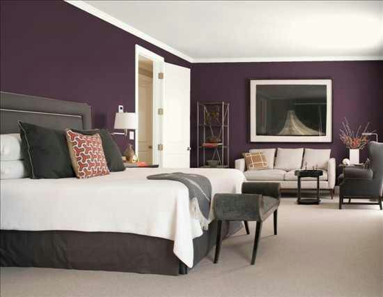Design Inquiries: Winning The Purple Bedroom Battle With