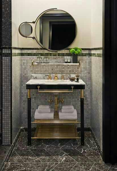 Bathroom Vanities With Pretty Exposed Pipes Design Indulgences - Bathroom vanity pipes