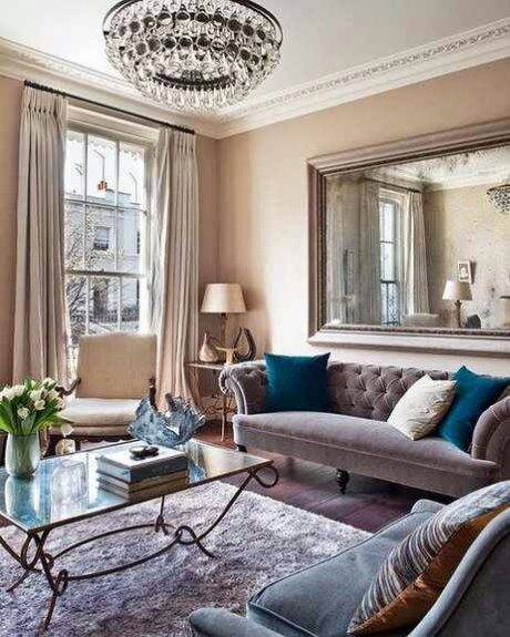 Indulge daily 1 comfy glam living room design indulgences Victorian living room decorating ideas with pics