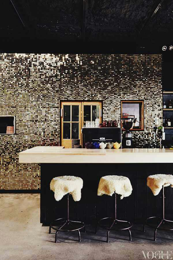 Indulge Daily 3 26 14 This Sequin Wall Is Gorgeous